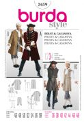 2459 Burda Pattern: Pirate Costumes